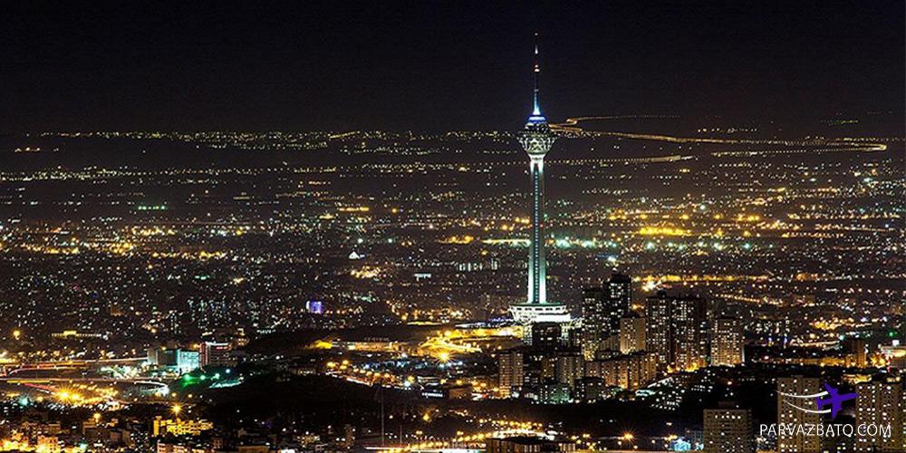 پرواز مشهد تهران